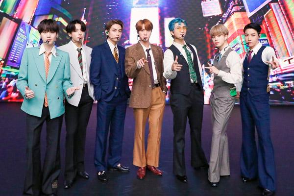 Nach Billboard-Erfolg von BTS wirtschaftliche Gewinne von 1,7 Billionen Won erwartet