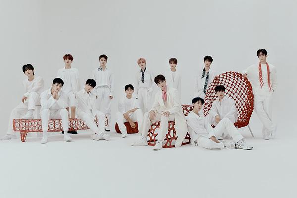 SEVENTEEN vuelve a liderar la lista semanal de Oricon