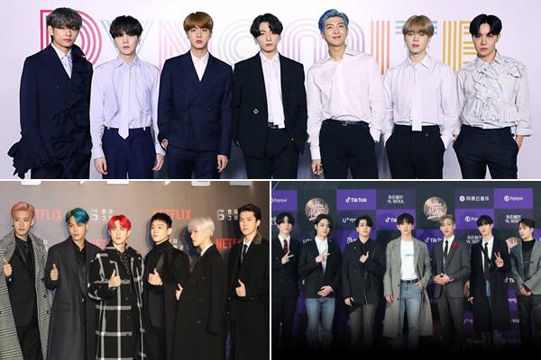 BTS, EXO, GOT7 giành đề cử tại Billboard Music Awards 2020