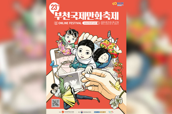 Internationales Comicfestival Bucheon findet online statt