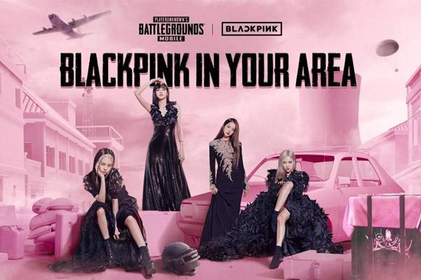 BLACKPINK hợp tác với trò chơi điện tử PUBG Mobile