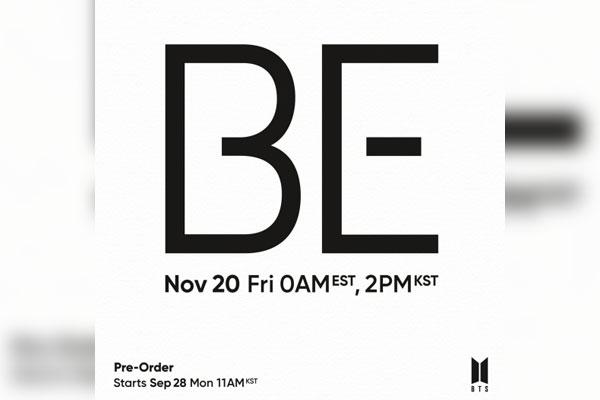 BTS to drop new album in Nov.