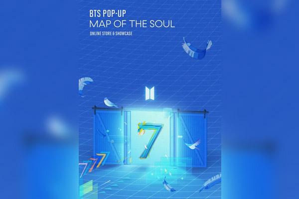 Neue Pop-up-Läden von BTS im Internet