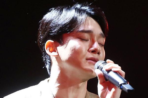 Chen von EXO tritt Militärdienst an