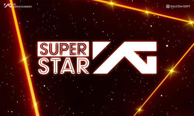 Das neueste Rhythmus-Spiel mit Künstlern von YG Entertainment ist da!