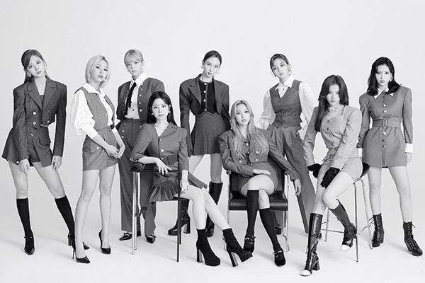 Twice domine le classement des groupes féminins de k-pop en novembre