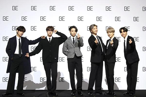 BTS reste en tête du classement des boys band les mieux reconnus