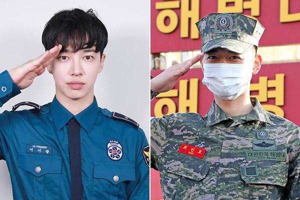 Lee Gi-kwang von Highlight und Lee Min-ho von SHINee beenden Militärdienst