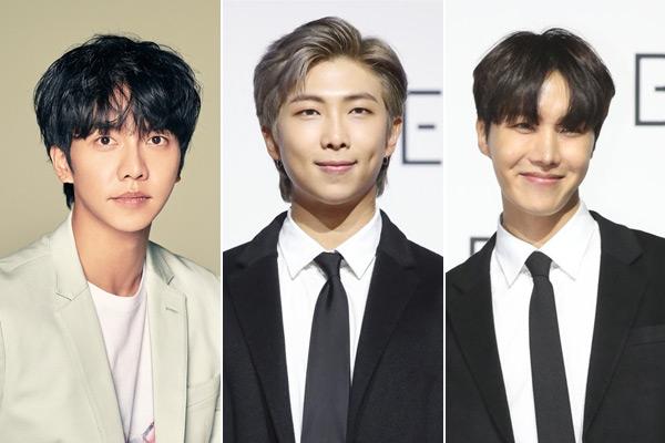 RM y J-Hope brillan en comeback de Lee Seung Gi