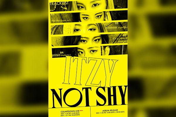 ITZY veröffentlicht erstes englischsprachiges Album