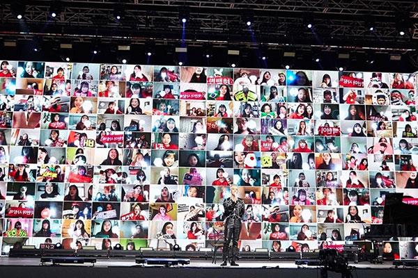 Baekhyuns Online-Konzert zieht 110 000 Zuschauer an