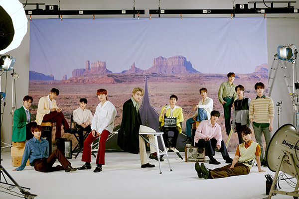 Seventeen treten in US-TV-Show auf
