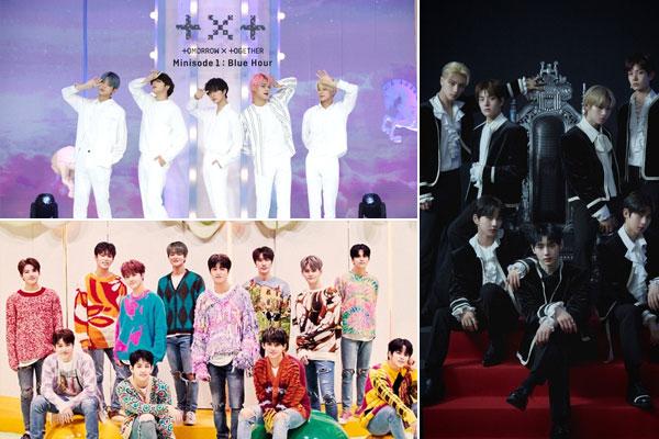 Các nhóm nhạc K-pop thế hệ thứ 4 đang tăng tốc tiến công sang Nhật Bản