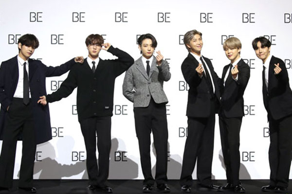 방탄소년단, 'BE' 앨범 새 버전 '에센셜 에디션' 발매