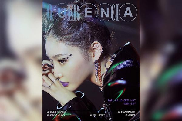Chungha releases studio album