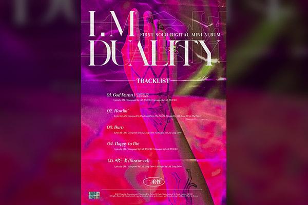 I.M. MONSTA X Rilis Album Solo Pertama 6 Tahun Sejak Debut
