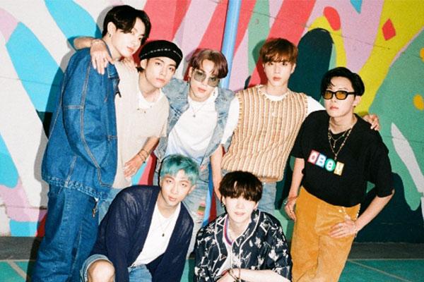 BTS, '다이너마이트'로 오리콘서 두번째 '밀리언 포인트' 싱글
