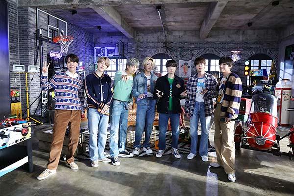 Album BE của BTS lội ngược dòng xếp thứ 7 Billboard 200