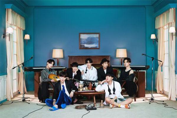 BTS auf Platz 7 der Billboard-Albumcharts