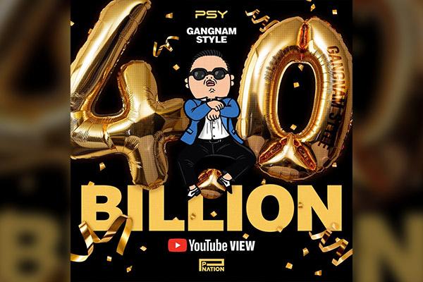 """MV """"Gangnam Style"""" của PSY vượt mốc 4 tỷ lượt xem trên Youtube"""