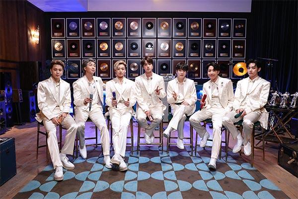 """Neue Version von BTS-Album """"BE"""" auf Platz sieben von Billboard 200"""
