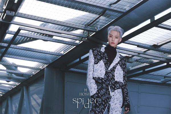 SEVENTEENホシ 初ソロミックステープ「Spider」発表