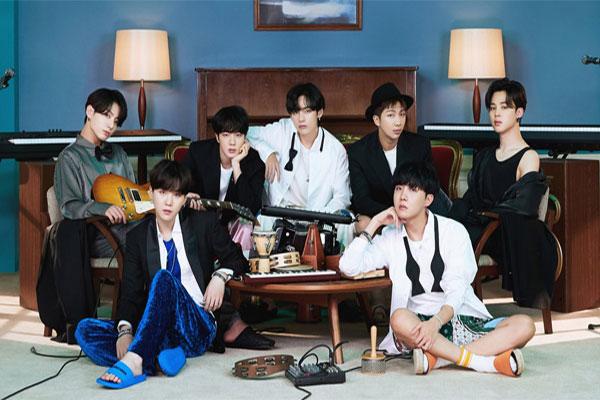 BTS 일본 신곡, 오리콘 주간 디지털 싱글차트 1위