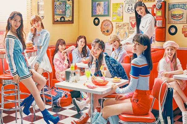 니쥬 신곡, 일본서 발매 첫주 재생횟수 역대 1위
