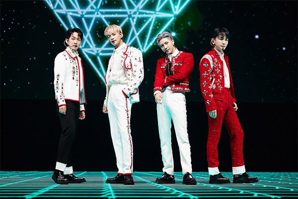 Shinee bringt erfolgreich erstes Online-Konzert über die Bühne