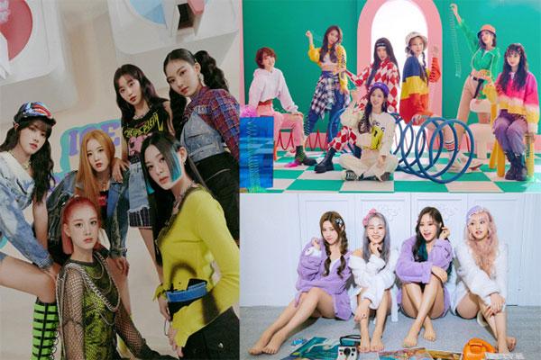 La concurrence s'intensifie parmi les groupes d'idoles de la 4e génération de la k-pop