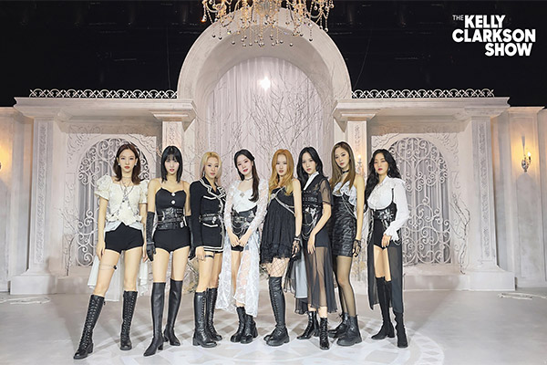 TWICE to perform on US TV series