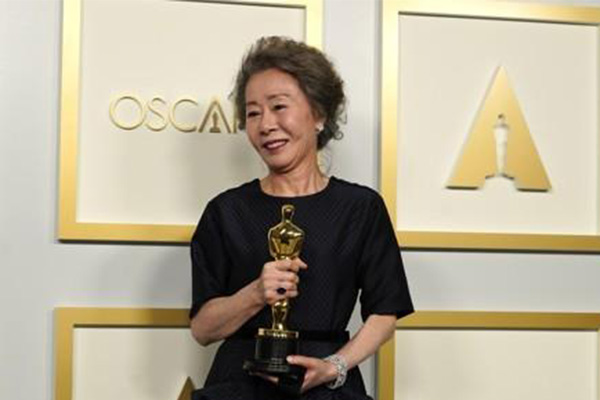 Youn Yuh-jung wins Best Supporting Actress Oscar