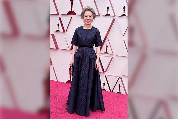 Mamar Halim viste a Youn para los Óscar