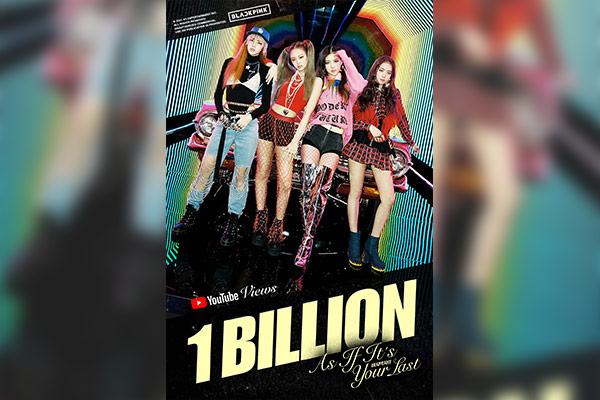 Musikvideo von BLACKPINK sprengt auf YouTube Milliardenmarke