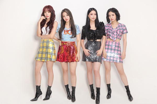 Brave Girls Melon月間チャート2か月連続1位