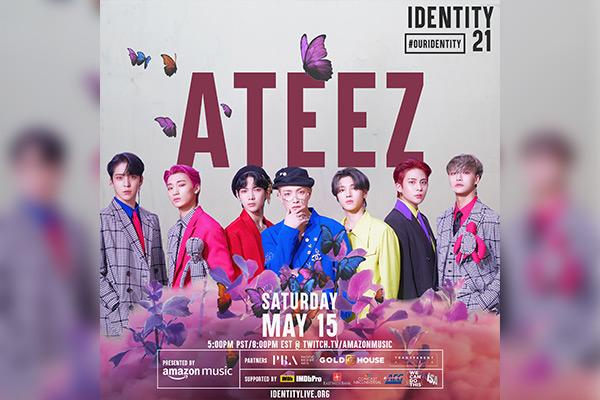 Ateez tham dự sự kiện từ thiện của Amazon Music
