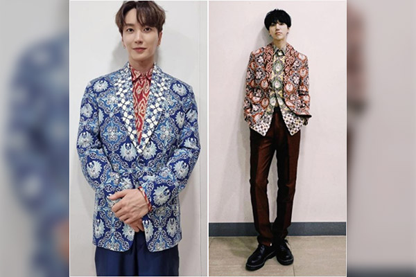 Super Junior Kenakan Batik Desain Gubernur Jawa Barat Ridwan Kamil
