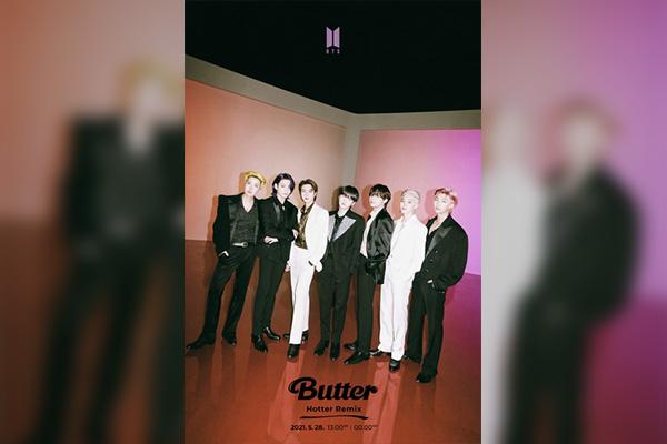 """BTS veröffentlicht Remix von """"Butter"""""""