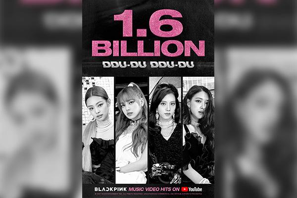 """MV BLACKPINK """"DDU-DU DDU-DU"""" Tembus 1,6 Milyar View di YouTube"""