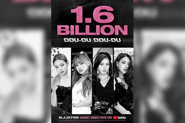 """DDu-du Ddu-du"": video coreano más visto en Youtube"