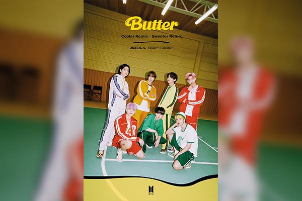 """BTS revela versión """"Sweeter"""" y """"Cooler"""" de """"Butter"""""""