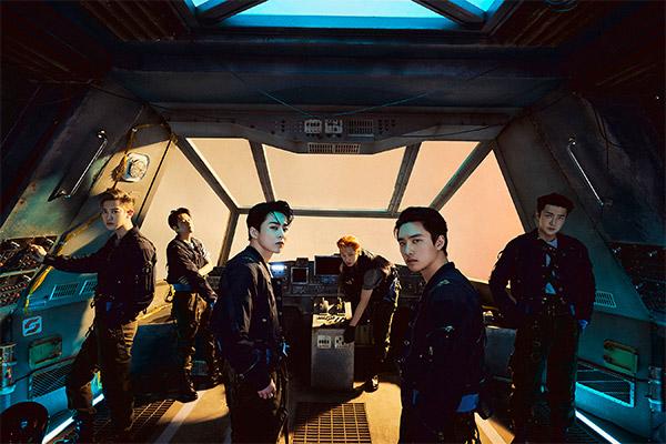 EXO führt auf iTunes Albumcharts an