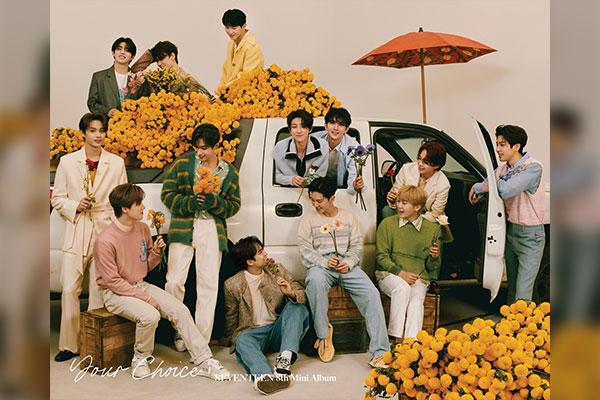 Album mini 8 của Seventeen tiêu thụ hơn 1,14 triệu bản sau 4 ngày phát hành
