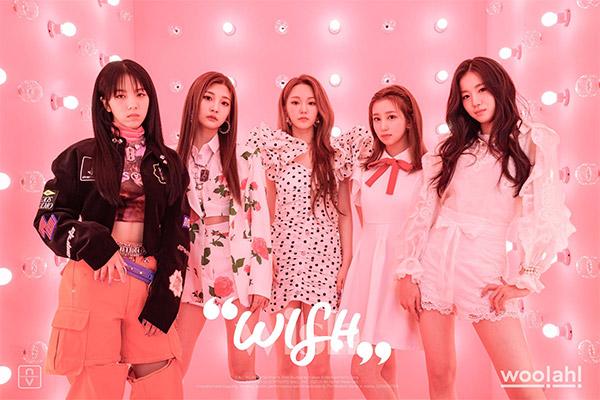 """Ca khúc mới """"Purple"""" của woo!ah! 4 tuần liền dẫn đầu MV K-pop của Nhạc của tui"""