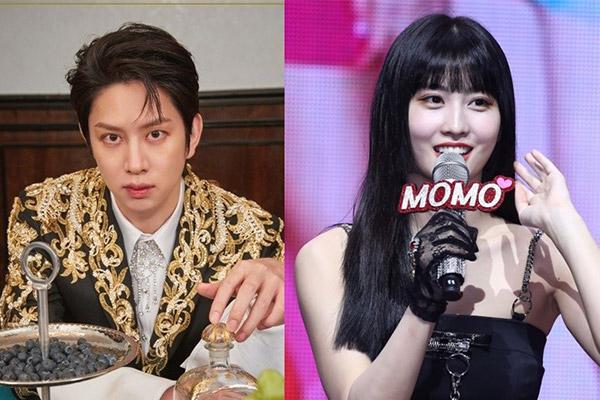 Kim Hee Chul y Momo se separan