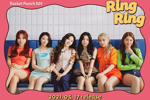Rocket Punch「Ring Ring」アコースティックver.15日公開