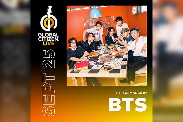"""BTS Akan Tampil dalam Konser Amal """"Global Citizen Live"""""""