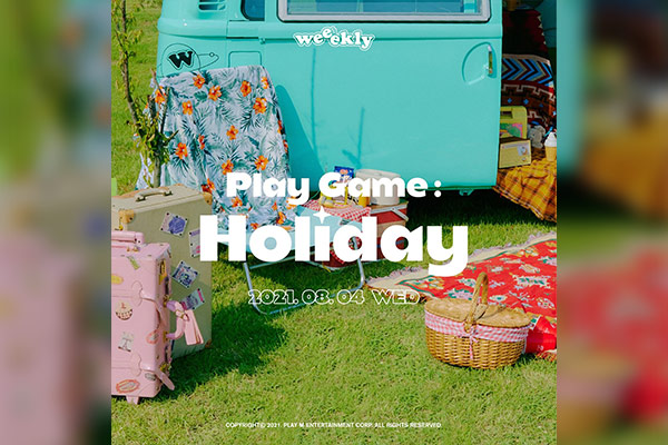 Weeekly ニューアルバム『Play Game : Holiday』リリース