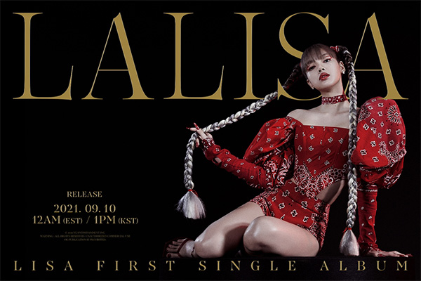 Tracklist for Lisa's new album revealed