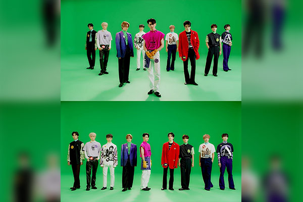 NCT127 アルバム発売記念カムバックショーを開催